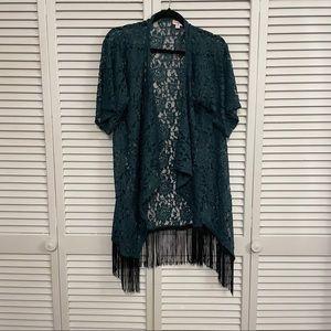 LuLaRoe Lace Kimono